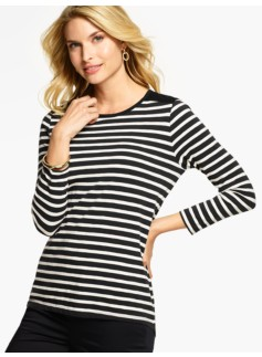 Lace & Stripes Tee