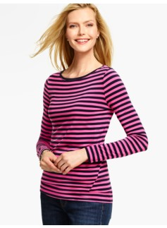 ThermaWarmth Tee - Stripes
