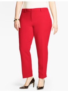 Talbots Hampshire Ankle Pant-Double Weave