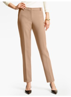 Talbots Hampshire Ankle Pant  - Double Weave
