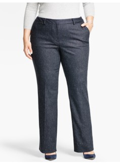 Talbots Windsor Pant - Donegal Herringbone