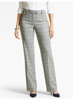 Talbots Windsor Pant - Italian Flannel/Windowpane