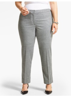Talbots Hampshire Ankle Pant - Checks