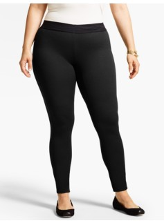 Refined Ponte Knit Legging