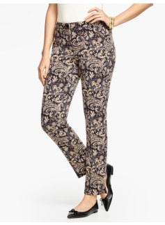 Talbots Hampshire Ankle Pant-Curvy/Paisley