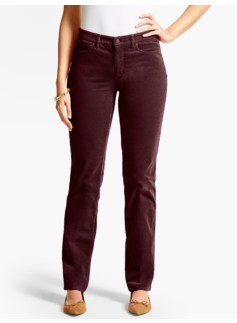 The Flawless Five-Pocket Cord Straight-Leg-Curvy