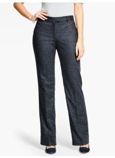 Talbots Windsor Pant-Curvy/Donegal Herringbone