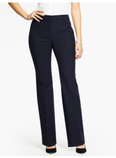 Talbots Raleigh Pant-Curvy/Double Weave