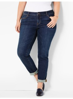 The Flawless Five-Pocket Boyfriend - Leeward Wash