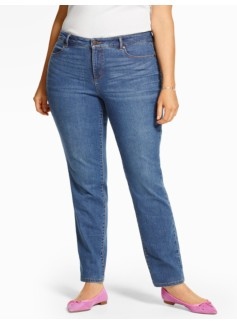 The Flawless Five-Pocket Slim Ankle - Lagoon Wash