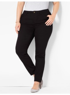 The Flawless Five-Pocket Jegging-Black