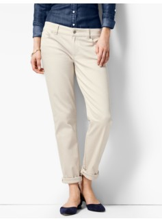 The Flawless Five-Pocket Boyfriend-Soft Colors