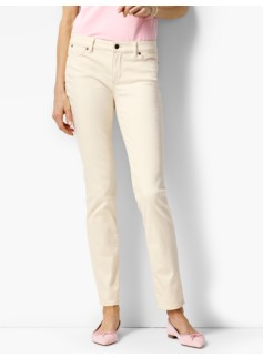 The Flawless Five-Pocket Slim Ankle - Vanilla Wash