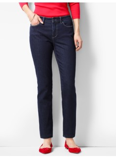 The Flawless Five-Pocket Ankle-Curvy/Quay Wash