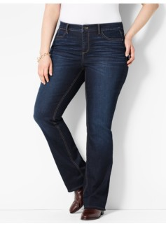 The Flawless Five-Pocket Bootcut - Mooring Wash