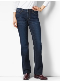 The Flawless Five-Pocket Bootcut -Curvy/Mooring Wash