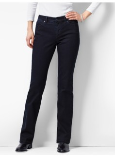 The Flawless Five-Pocket Bootcut-Curvy/Nightfall Wash