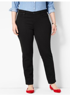 The Flawless Five-Pocket Ankle - Black