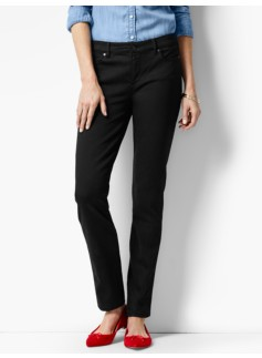 The Flawless Five-Pocket Slim Ankle-Black