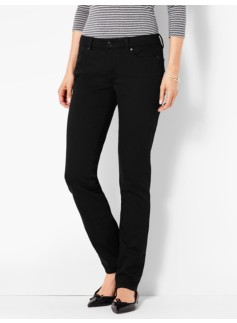 The Flawless Five-Pocket Straight-Leg-Black