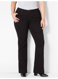 The Flawless Five-Pocket Flare - Black