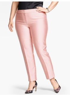 Woman Doupioni Tailored Ankle Pant