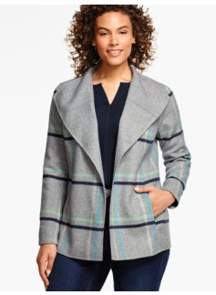Double-Faced Jacket-Plaid