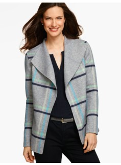 Double-Face Jacket-Plaid