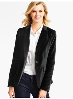 The Velveteen Blazer
