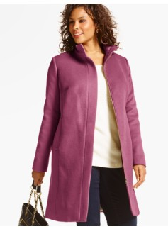 Plush Wool Coat