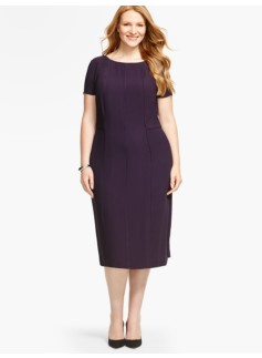 Piped Georgette Sheath