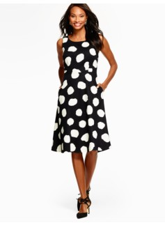 Painted-Dot Dress