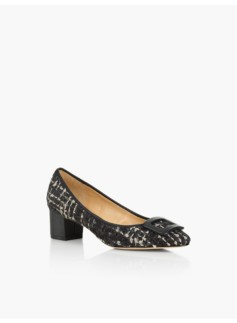 Fiana Buckle Pumps - Tweed Boucl�