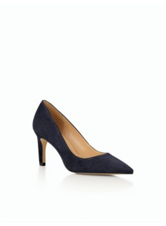 Eri Pointy-Toe Pumps - Suede