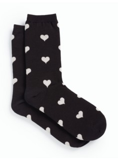 Tossed Hearts Sock
