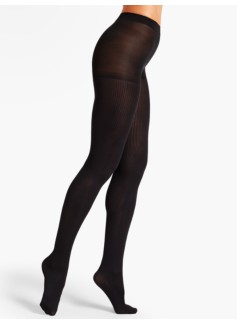 Rib-Textured Tights