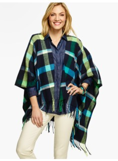 Harvest Plaid Wrap