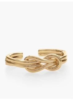Knotted Hinged Cuff
