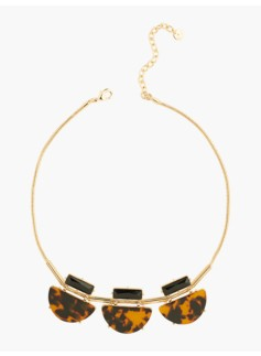 Sliding Tortoiseshell Necklace