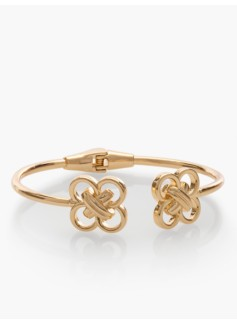 Double-Knotted O-Ring Cuff