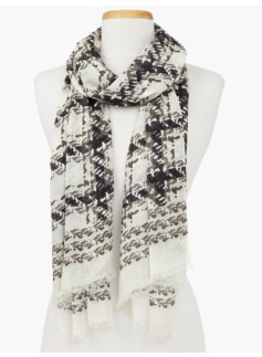 Whitney Plaid Scarf