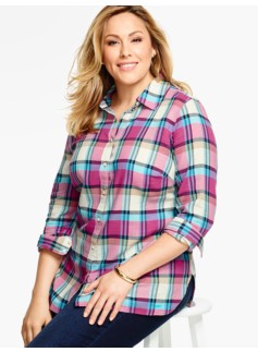 The Classic Casual Shirt - Pastel Plaid