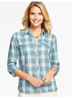 The Classic Everyday Shirt - Mixed Plaid