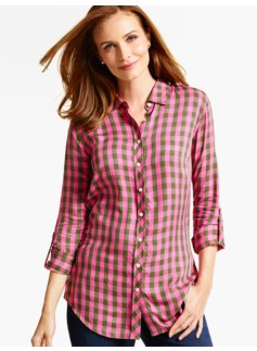 The Long Drapey Shirt - Westgate Checks