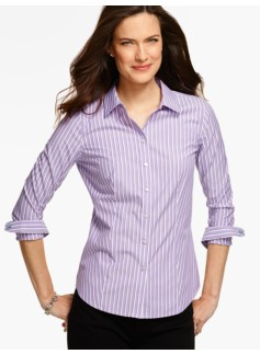 The Perfect Long-Sleeve Shirt - Stripes