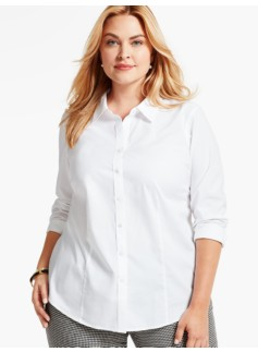 The Perfect Long-Sleeve Shirt-White