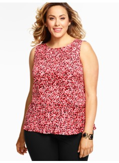 Raining Dots Peplum Top