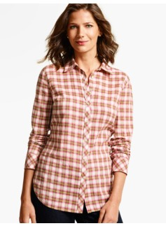 The Classic Casual Shirt - Coastal Plaid