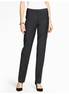 Seasonless Wool Straight-Leg Pant