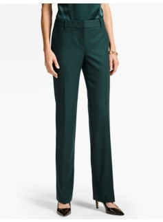 Luxe Wool Piqué Tailored Trouser